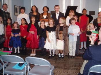 Among last spring`s first recitals